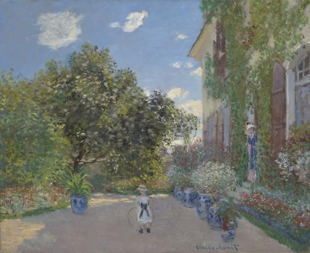 Claude Monet (1840-1926), The artist's house at Argenteuil, 1873, oil on canvas, 60,2 x 73,3 cm, Art Institute Chicago