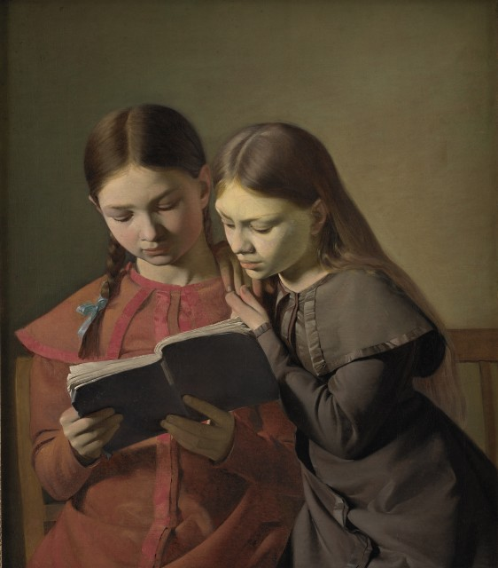 Constantin Hansen (1804-1880), The artist's sisters, 1826, oil on canvas, 65,5 x 56 cm, Statens Museum for Kunst Copenhagen