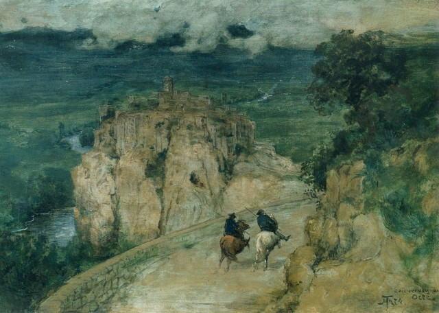 Hans Thoma (1839-1924), Memories of Orte, 1874, oil on canvas, Collection Baechle