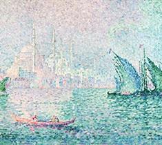 Paul Signac (1863-1935), Constantinople: Yeni Djami, 1909, oil on canvas, 66 x 81,5 cm, Fondation Courboud