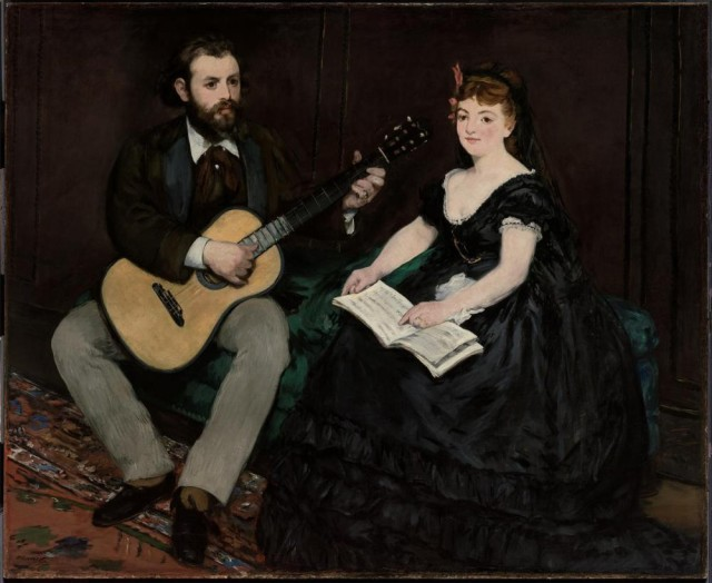 Edouard Manet (1832-83), The Music Lesson, c. 1868, oil on canvas, 141 x 173,1 cm, Museum of Fine Arts, Boston