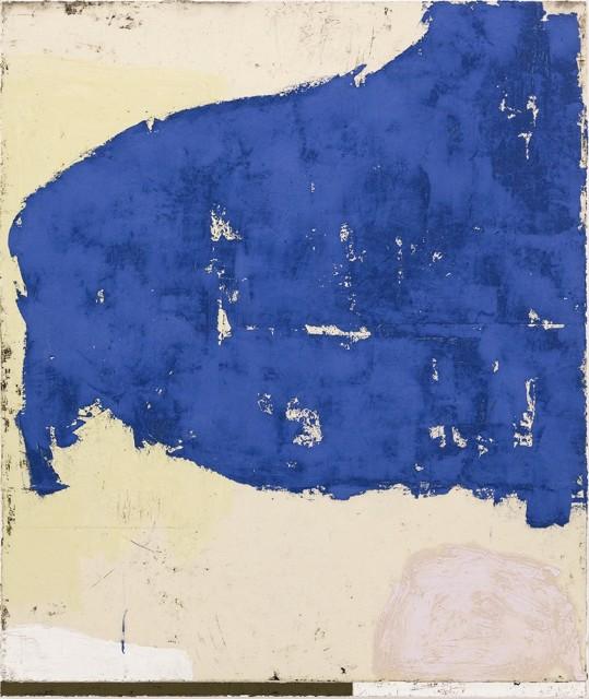 Luca Serra, Remedio para todos los male – Cabezo, 2017, 120 x 100 cm, calco in resina acrilica di pigmenti e polveri su tela