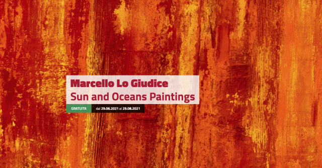 Marcello Lo Giudice. Sun and Oceans Paintings
