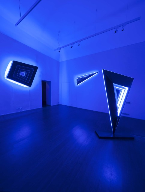 Light Trek . Nanda Vigo - ABC-ARTE Contemporary Art Gallery - 2014 \ 2015