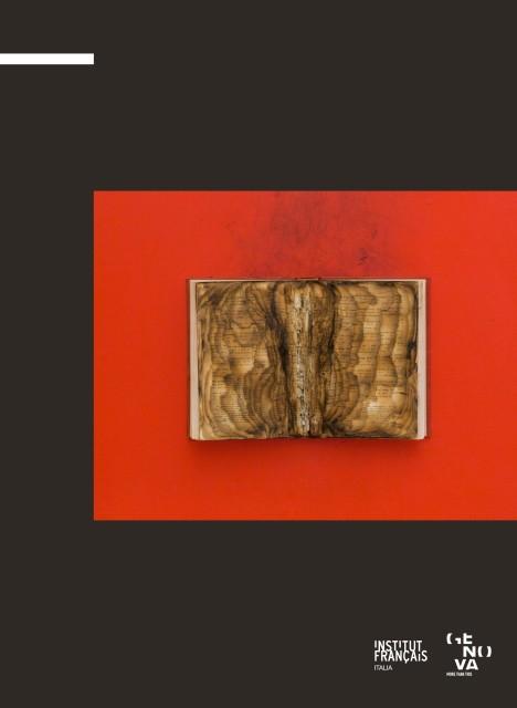Bernard Aubertin Situazione pittorica del rosso cover