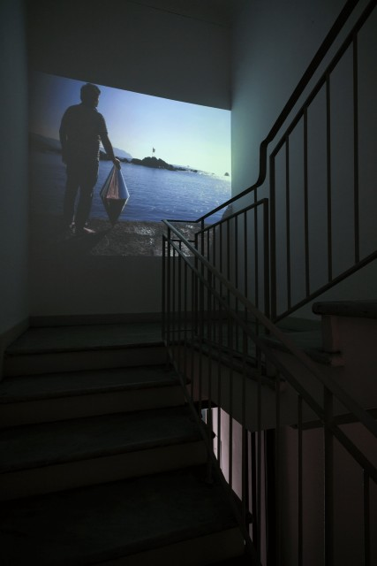 Matteo Negri | Piano Piano ABC-ARTE Genova, installation view_ Navigator video
