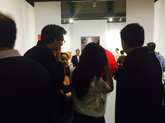 ABC-ARTE booth at Art Paris Art fair