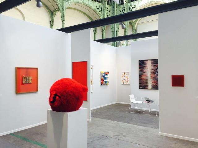 ABC-ARTE booth at Art Paris Art fair