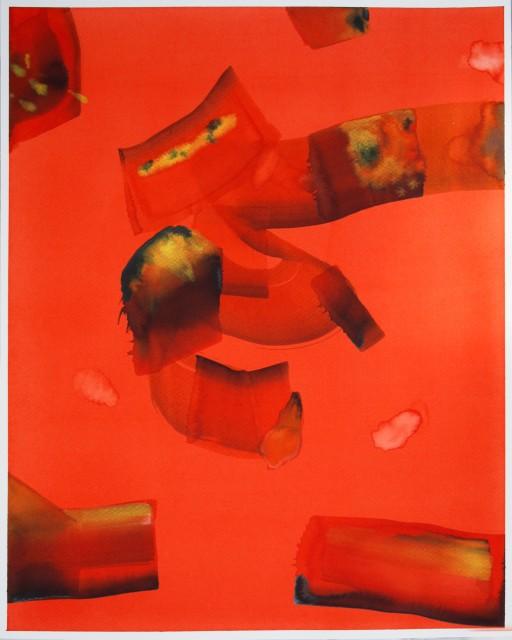 Isabella Nazzarri, Dell' aria e del fuoco, 2017, 50x40cm, watercolor on paper