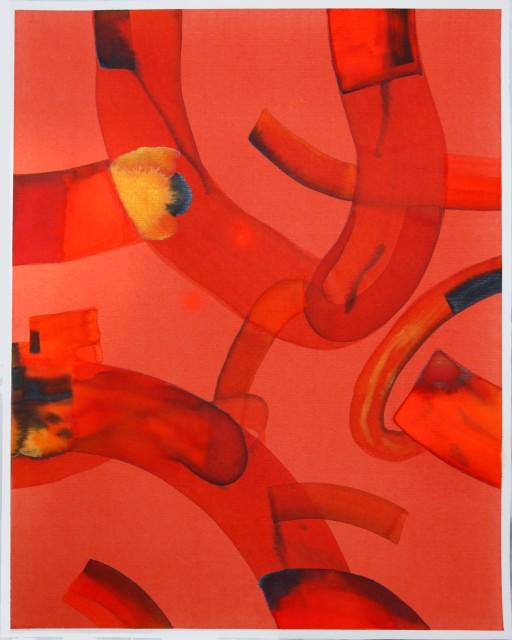 Isabella Nazzarri, La danza dei serpenti, 2017, 50x40,5cm, watercolor on paper