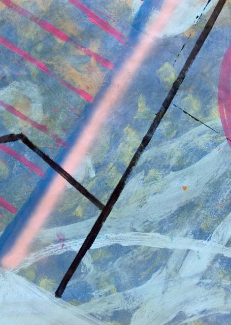 Giulio Zanet, Senza titolo, 2017, 70x50cm, mixed media on paper