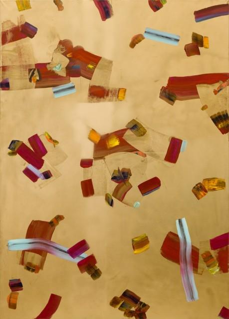 Isabella Nazzarri, Isteria ludica, 2017, 100x140cm, acrilico su tela