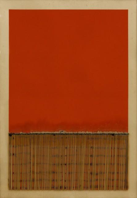 Bernard Aubertin Dessin de feu, 1974