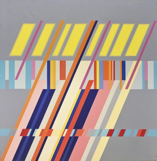 Carlo Nangeroni, Diagonali-serie-luce I, 1962