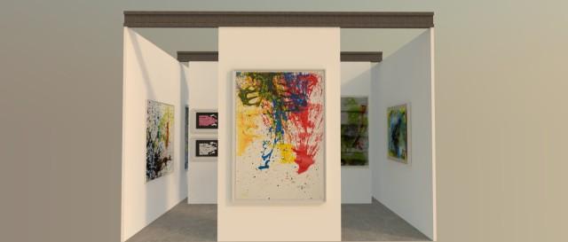 Art Paris Art Fair 2016 - ABC-ARTE Stand booth E22