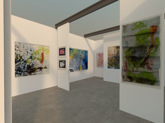 Art Paris Art Fair 2016 - ABC-ARTE Stand booth E22