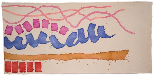 Giorgio Griffa, Movimento rosa