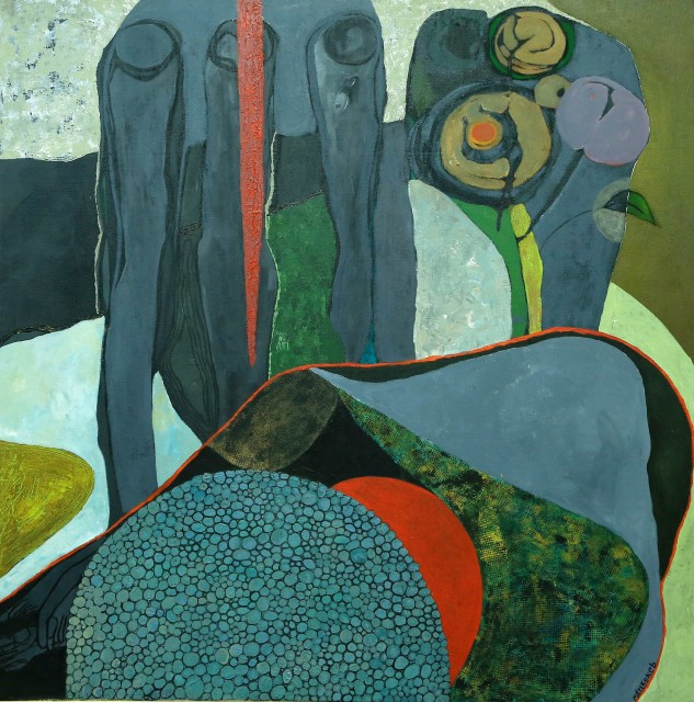Merikokeb Berhanu, Untitled 1, 2014