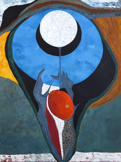 Merikokeb Berhanu, Untitled XXXI, 2017