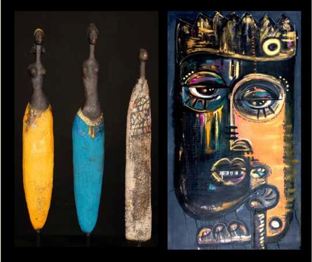 Etiyé Dimma Poulson & Stacey Okparavero, AWAKENING & POWER: Artistic Expressions Transcending Time