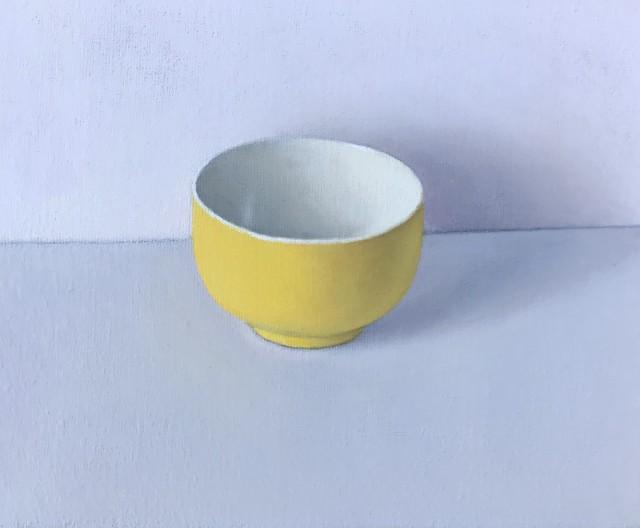 David Stubbs, Yellow On Grey And Pink