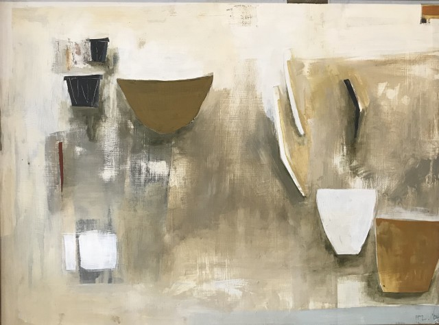 Ffiona Lewis, Still Life with Floating Brush, 1996