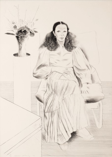David Hockney RA, Brooke Hopper, 1976