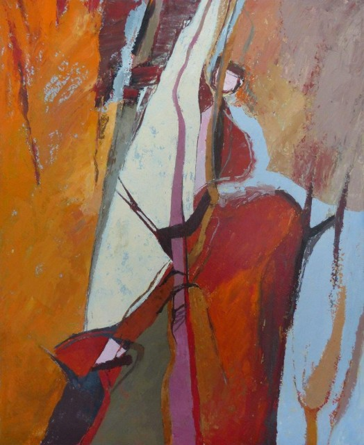 Jean Noble, Woodland Stream, 2017