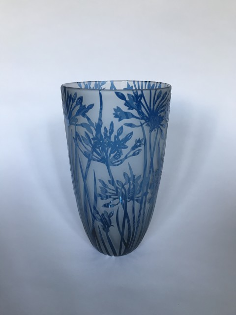 Colin & Louise Hawkins, Agapanthus Vase, 2019