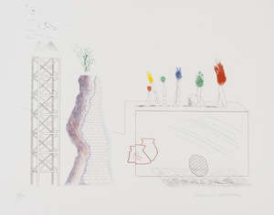 David Hockney RA, A Tune