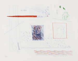 David Hockney RA, Etching is the Subject, 1976 -77