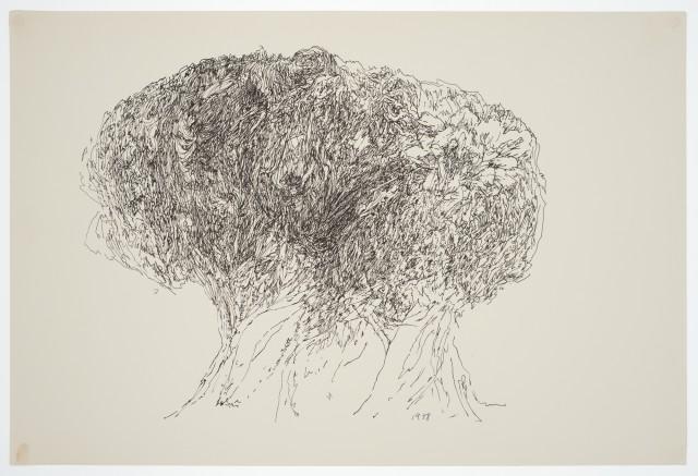 Margaret Raspé, Automatic Drawing 11, 1978