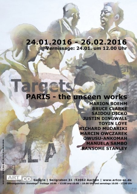 TARGETS - PARIS - THE UNSEEN WORKS, Group show
