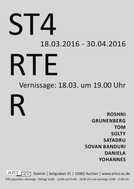 STARTER, Group show