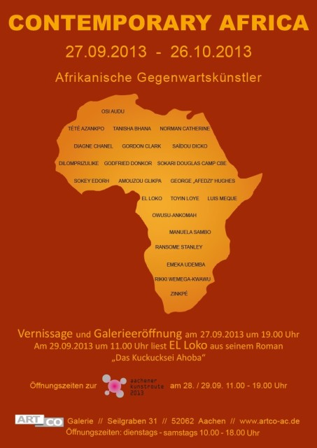 CONTEMPORARY AFRICA, Group show