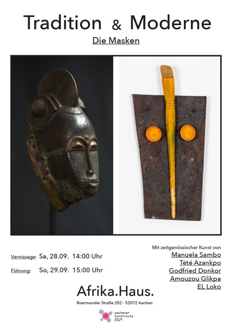Tradition & Modernity - The Mask, AFRIKAHAUS, Aachen / Ger