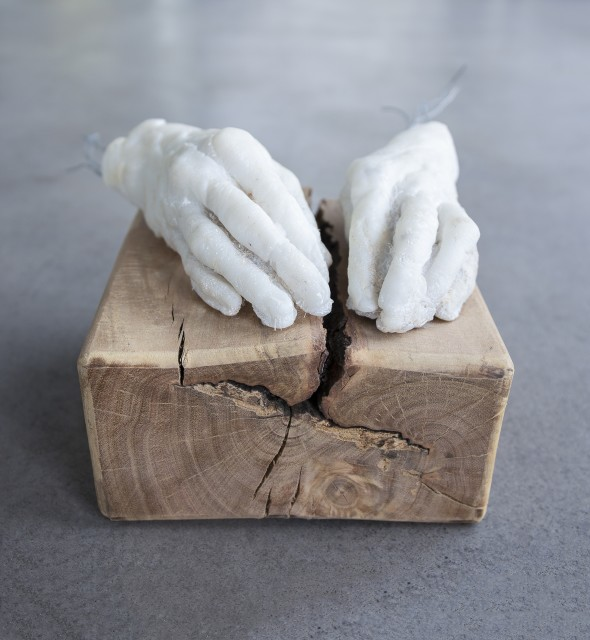 Daniel Blom, sculptor scriptor, 2018