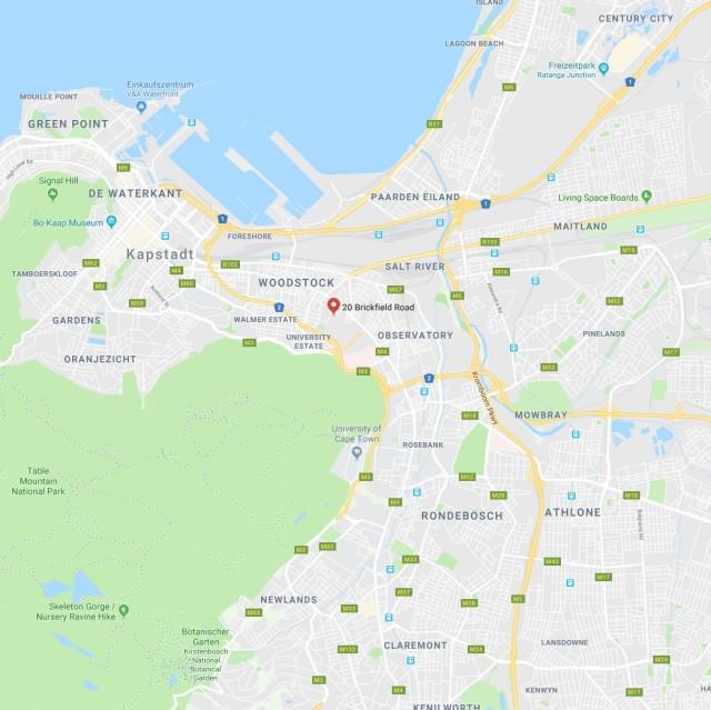 New studio Space in Cape Town