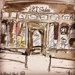 Art Salon, 21 Broad Street, Bath