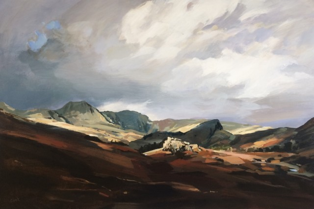 Colin Cook, Acros the Valley to the Langdales