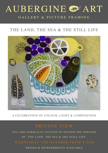 'The Land, The Sea & The Still Life'