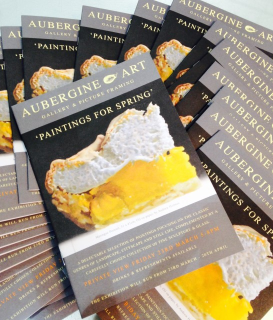 Catalogue for Paintings for Spring Exhibition: March 23 - April 22