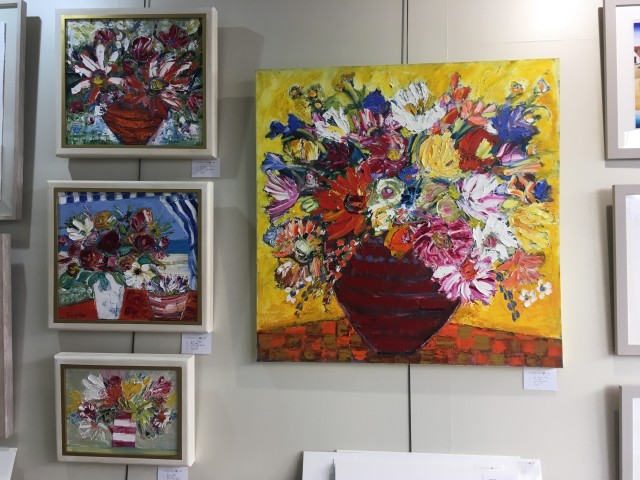 Oil on canvas works by Penny Rees at lowered prices!