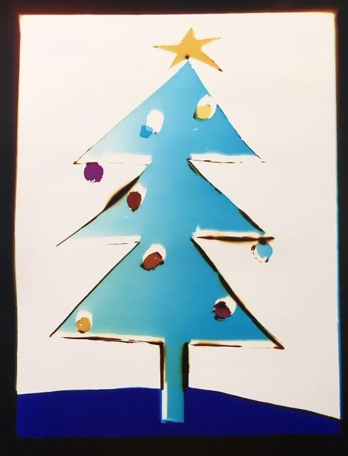Liz Nielsen, Holiday Tree, 2018