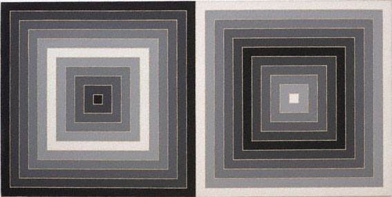 Frank Stella (USA b.1936) Untitled, 1965 Synthetic polymer on canvas 160 x 320.5 x 7.7cm Donated to AGNSW from John Kaldor Collection 2017