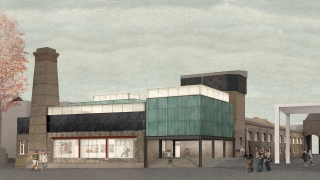 An artist's impression of the Goldsmiths Centre for Contemporary Art. Photo Assemble.