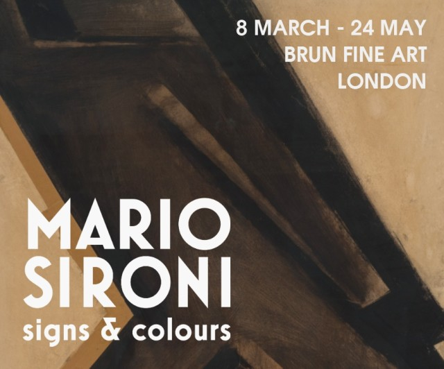 MARIO SIRONI: SIGNS & COLOURS