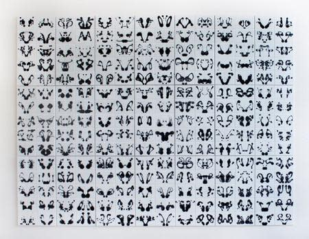 Anna Mlasowsky, Rorschach (I through XXI), 2014
