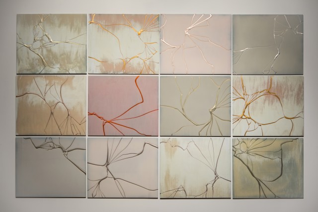 Matthew Day Perez, Meander 3, 2017, kilnformed glass