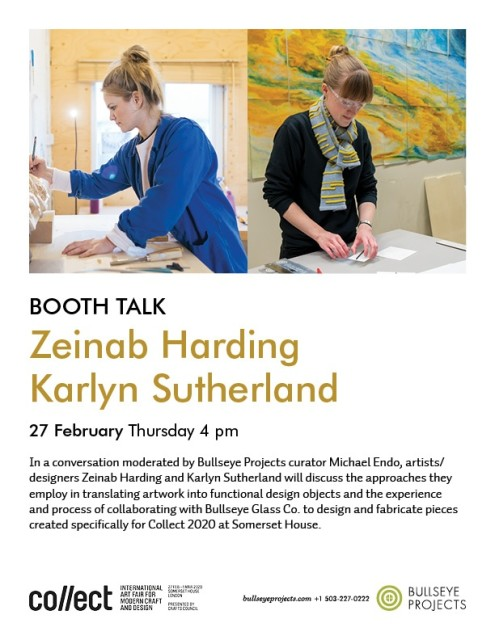 Collect 2020 Booth Talk, with Zeinab Harding and Karlyn Sutherland